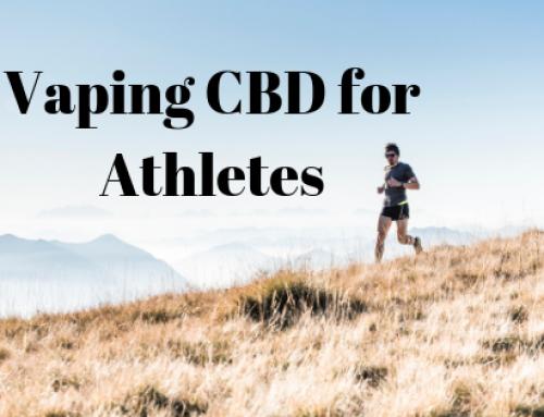 Vaping CBD for Athletes