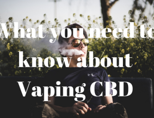 What you need to know about Vaping CBD