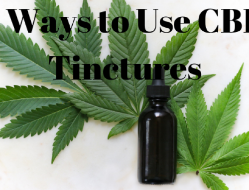 5 Ways to Use CBD Tinctures