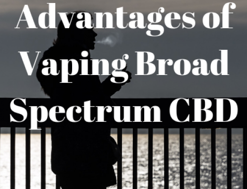 Advantages of vaping broad-spectrum CBD